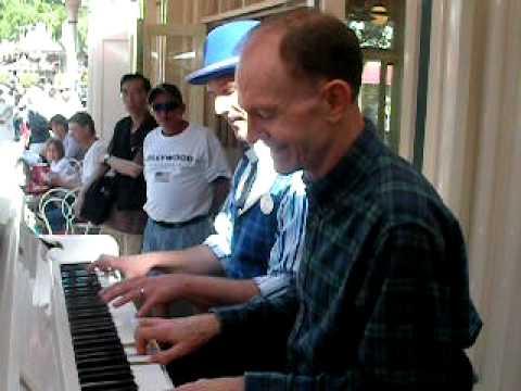 Rod Miller & Jonny May play 4hand I Got Rhythm @ DL may,2011
