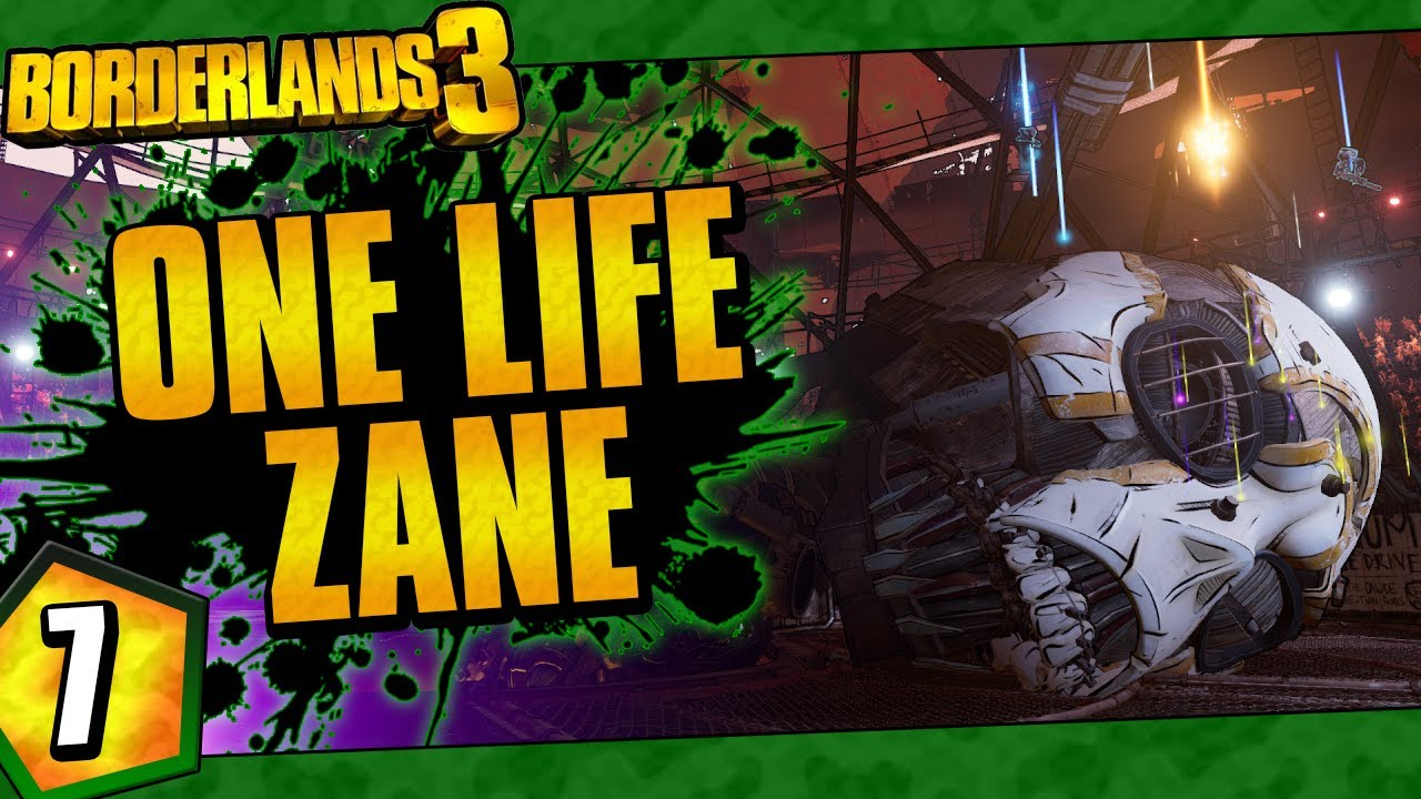 Borderlands 3 | One Life Zane Funny Moments And Drops | Day #7 thumbnail