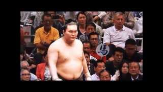The Autumn Grand Sumo Tournament. Hakuho did championship of 4 plac...