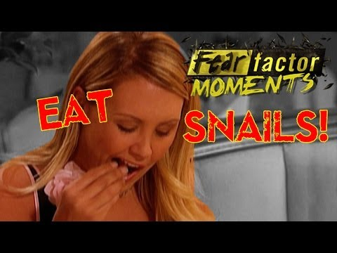 Fear Factor Moments | Eat Live Snails