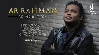 A.R.Rahman | The Musical Storm |  Extreme HD Quality Songs | All Time Favorite Songs | AR 90s Songs