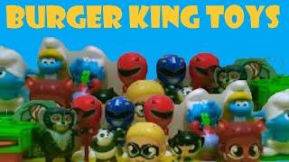 Burger King çocuk menüsü oyuncakları# Oyuncak koleksiyonum # fast food toys