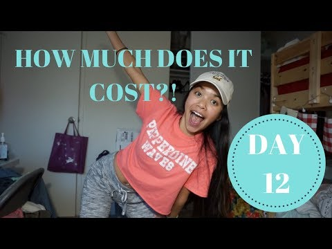 How Much Does it Cost to Live in Berkeley?! (UC BERKELEY) | VLOGMAS DAY 12- 2017