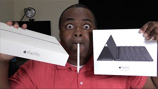 ipad pro 9 7 unboxing accessories smart keyboard apple pencil