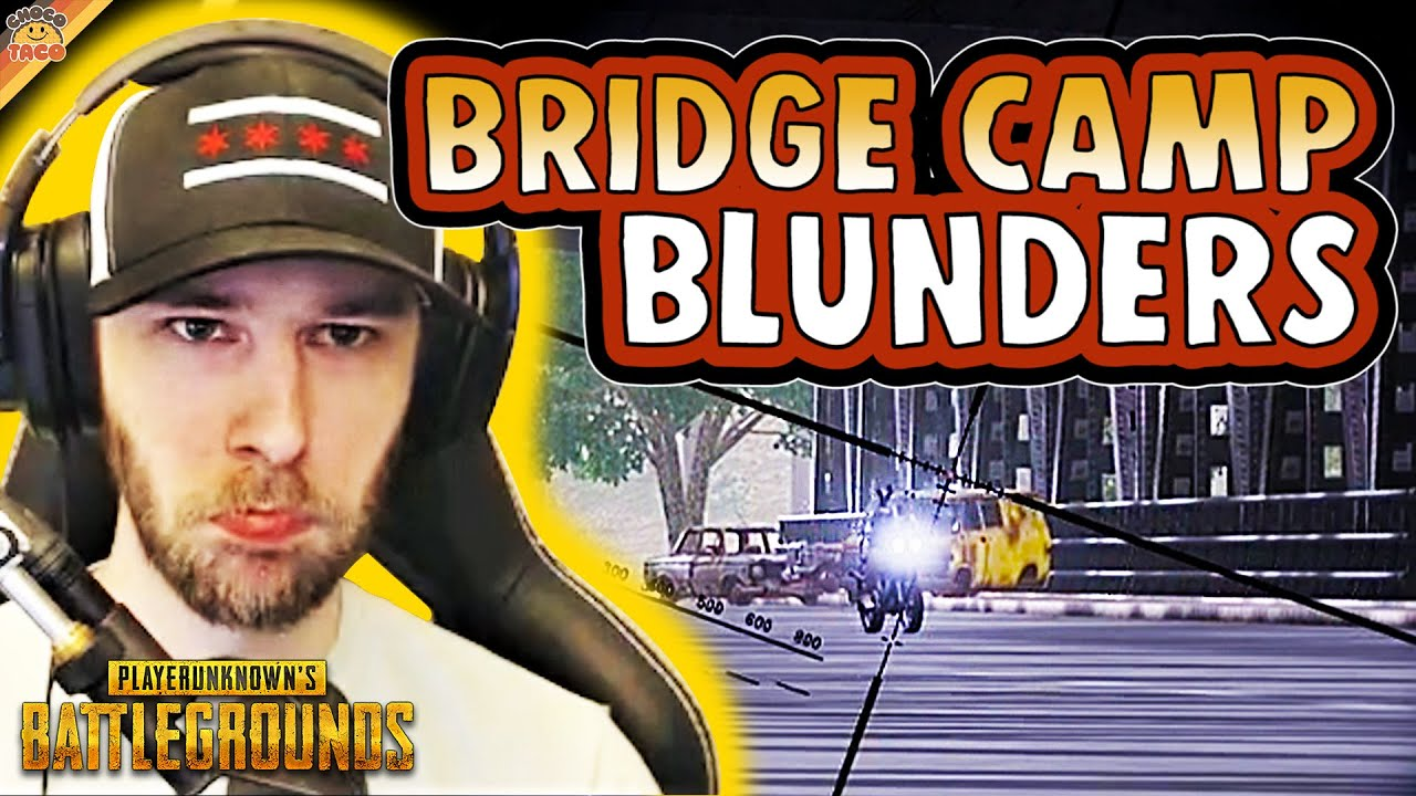 chocoTaco and Swagger Forgot How to Bridge Camp - PUBG Duos Gameplay