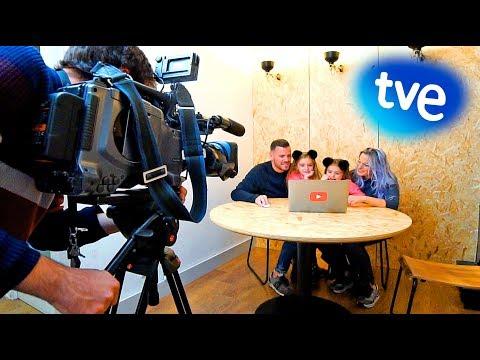 SALIMOS EN LA TELE TVE!! 😱🤗🎉 ItarteVlogs