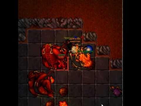 Kill Demon on Tibia Minera Gabret