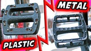 Plastic VS Metal Pedals   Whats Better?