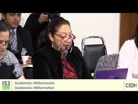 Guatemala: Militarizacion