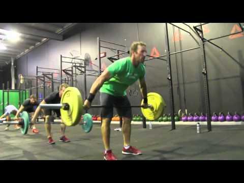 Reebok CrossFit Gold Coast prepares for the 2013 season - Dion Hamilton