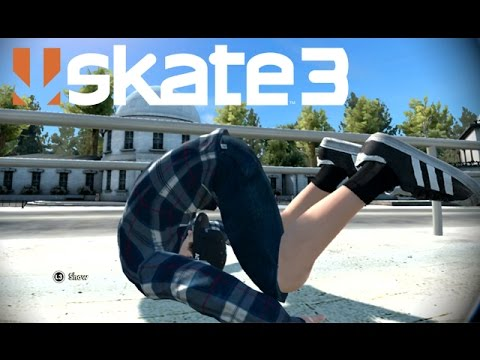 Skate 3 - Tuck and Roll [Playstation 3 Gameplay]