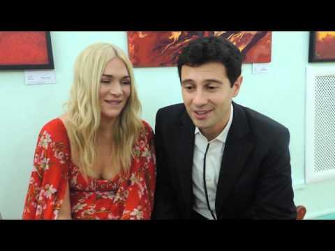 ИА IrkutskMedia Антон и Виктория Макарские в Иркутске. 06.12.2015