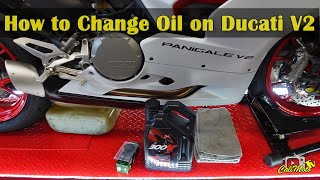 How to Change the Oil on a 2021 Ducati Panigale V2