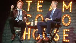 Conan O'Brien on working with Shaq & future Conan Without Borders locations