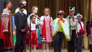 Смотреть видео Пасхальный концерт в ДК Россия 2019 онлайн