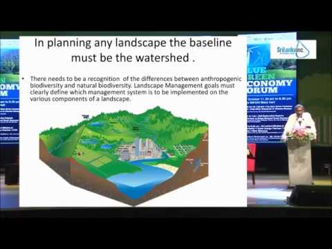 The Blue Green Economy as an Adaptation Response to Climate Change Part 1