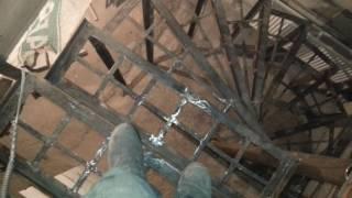видео Как сделать лестницу из бетона и винтовую лестницу своими руками