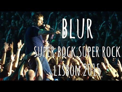 Blur Super Bock Super Rock 2015