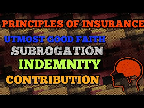 PART2 Insurance law ,CS,LLB, ACTUARIAL, UTMOST GOOD FAITH, SUBROGATION, CONTRIBUTION