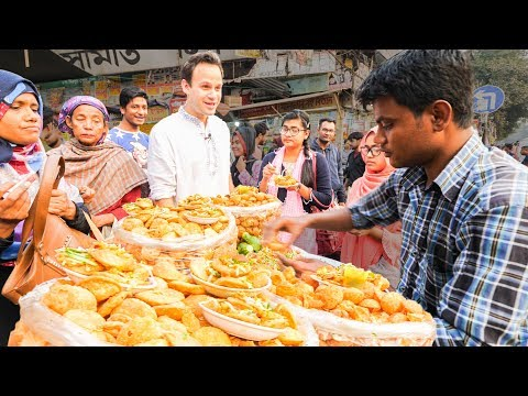 LEVEL 9999 Street Food in Dhaka, Bangladesh - The BRAIN FRY