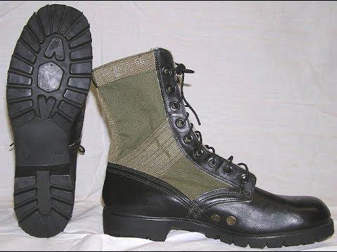 History Of  USGI Jungle Boots