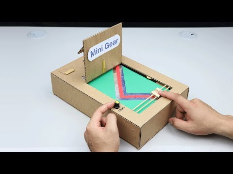 How to make Slide Game - Amazing Cardboard Game DIY
