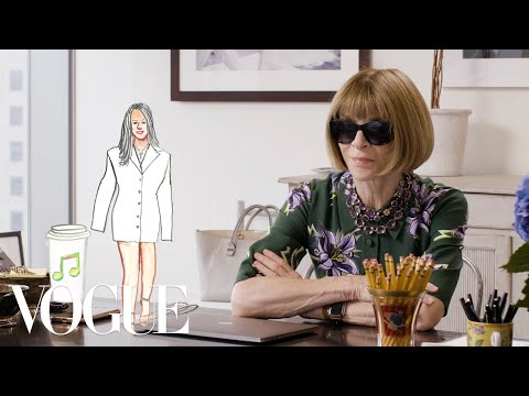 Anna Wintour loves flip-flops