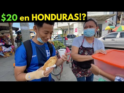 What can $20 get in HONDURAS?