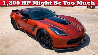 This 1,200whp Procharged C7 Z06 Will Make You Question What Is Truly Fast!