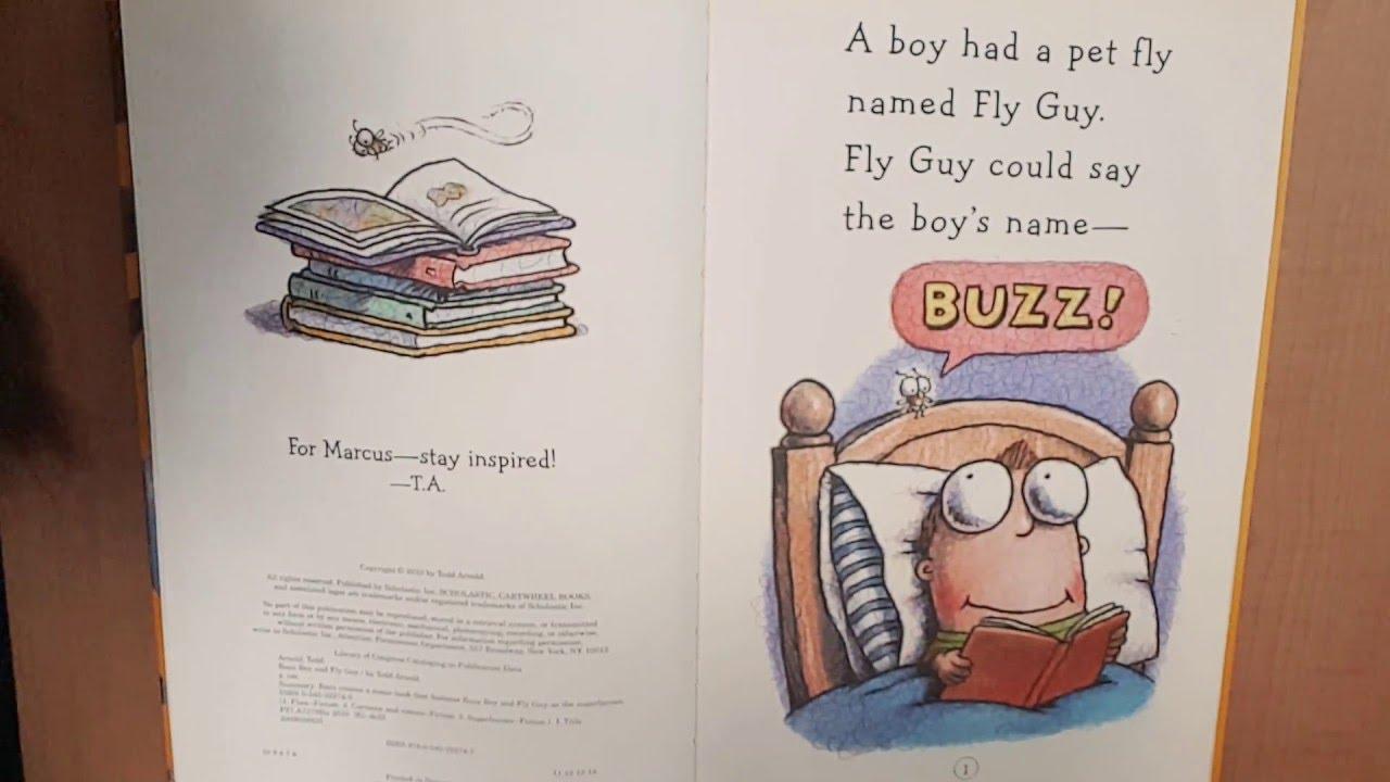 Alex's Fun Reading-#Buzz Boy And Fly Guy