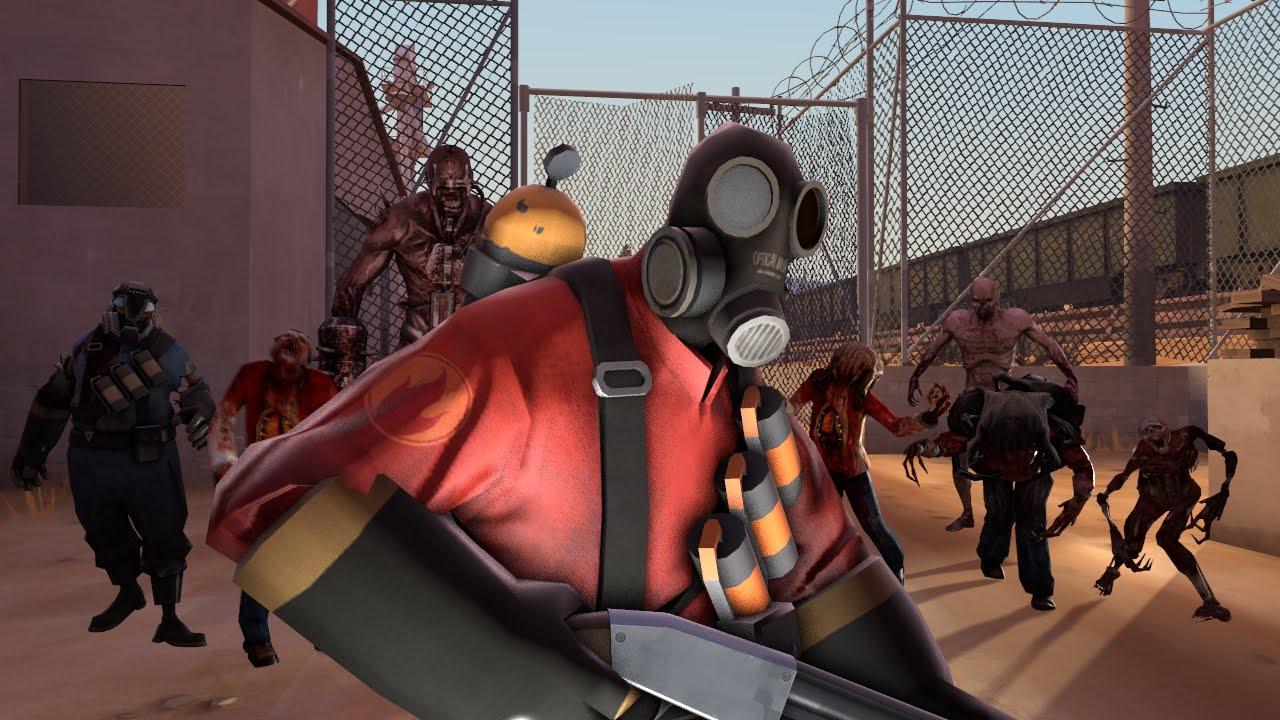 Team Fortress 2 VS Zombies Part 3 (Season 1) - YouTube