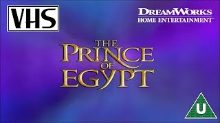 Opening to The Prince of Egypt UK VHS (1999)