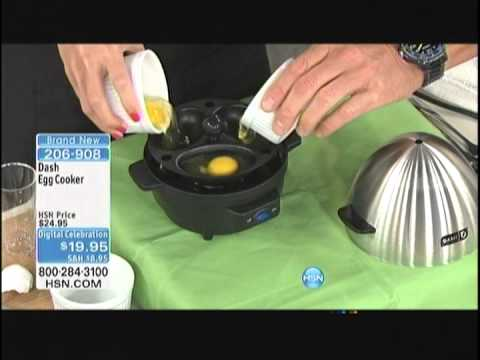 Kelly Diedring Harris launches the DASH Egg Cooker on HSN