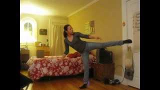 India Arie Dance Improvisation