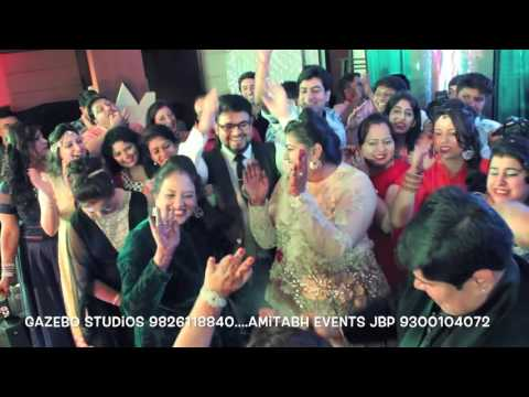 AMITABH EVENTS & GAZEBO STUDIOS JABALPUR SANGEET EVENT 9826118840 & 9300104072