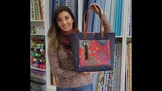 Carol Vilalta - Como fazer bolsa sacola volta ás aulas