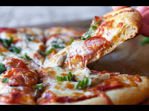 صورة  طريقة عمل البيتزا Тесто для пиццы   طريقه عمل البيتزا مظبوطه مع مريم طريقة عمل البيتزا من يوتيوب