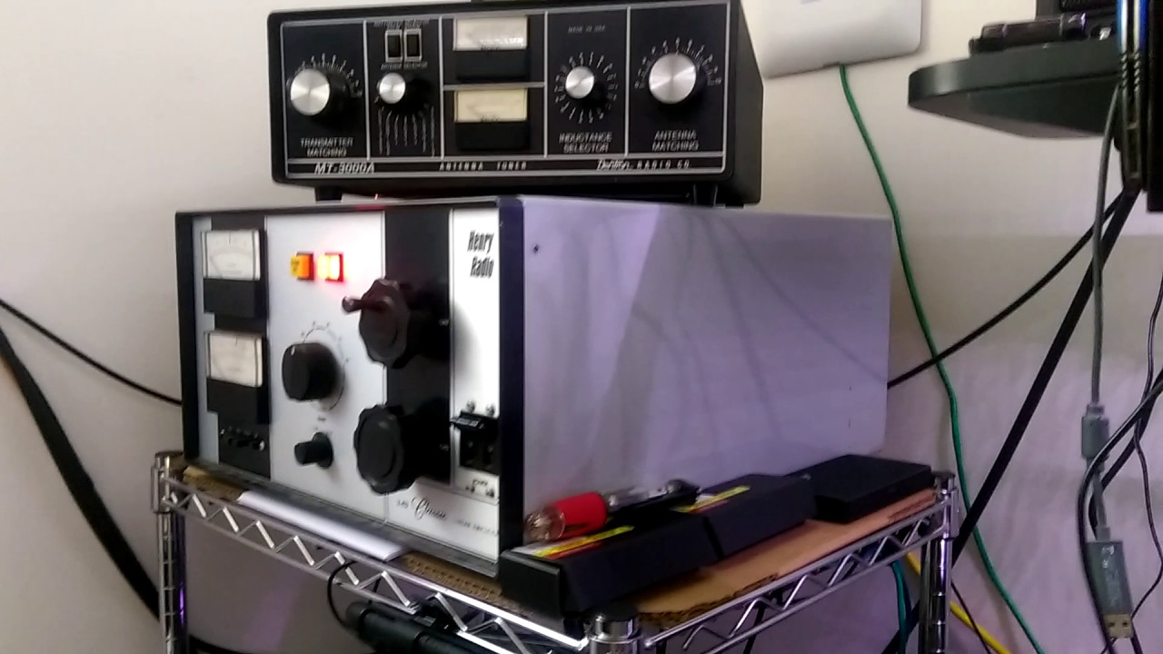SSTV 20m calling CQ - Flex 3000 & Henry 2KD Classic