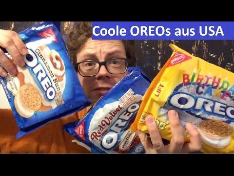 OREO KEKSE 3 neue KeksSorten aus den USA im TEST Cinnamon Bun