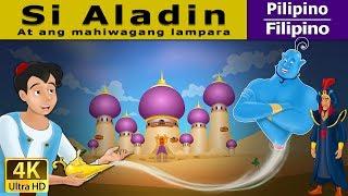 Si Aladdin at ang mahiwagang lampara - kwentong pambata - 4K UHD - Filipino Fairy Tales