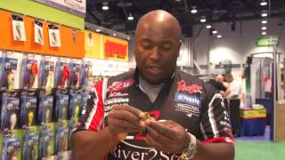 River2Sea Ish Monroe New Jack Flippin' Hook & New Biggie Crankbait Colors | ICAST 2013