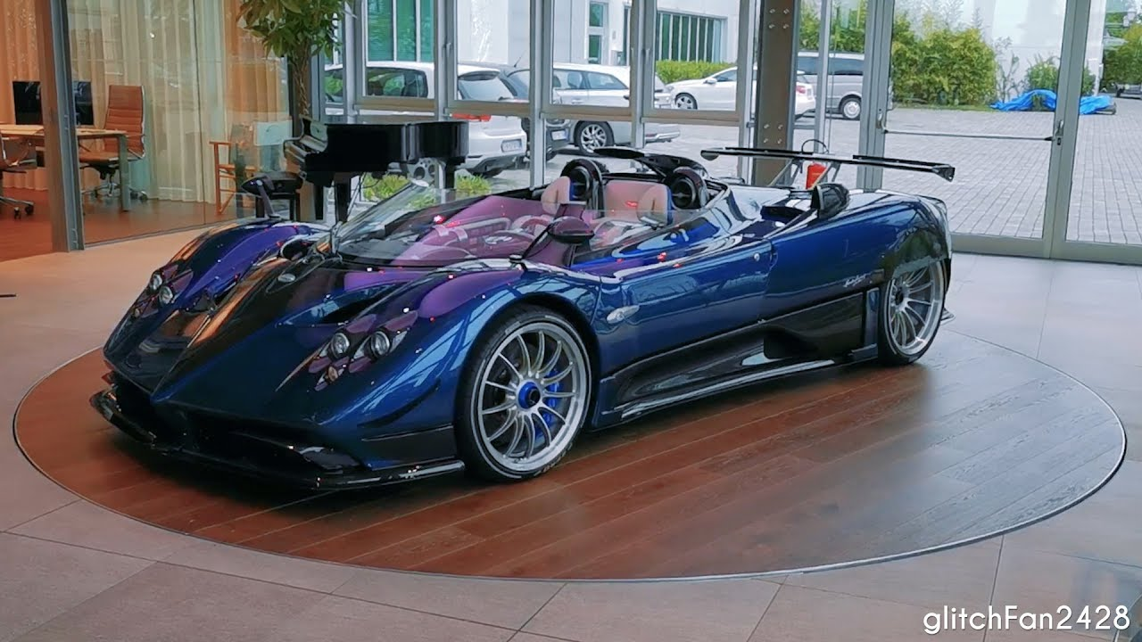 Usd 17 5 Million Pagani Zonda Hp Barchetta On A Turntable Youtube