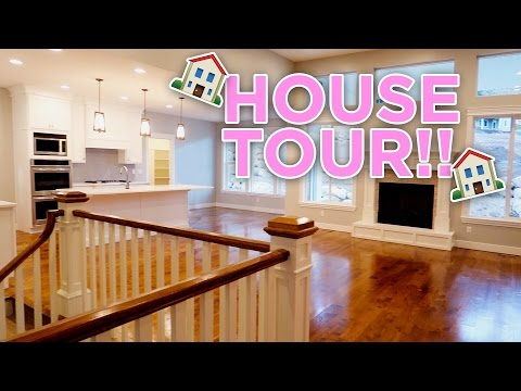 ELLIE AND JARED NEW HOUSE TOUR!