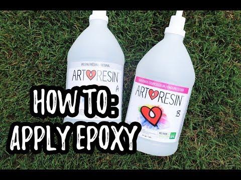 Applying EPOXY
