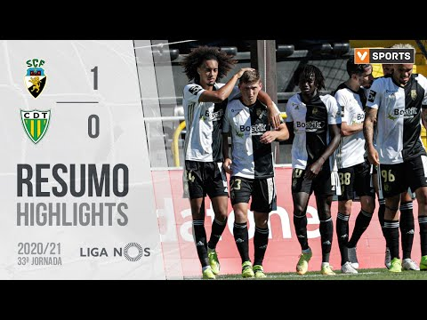 SC Farense Tondela Goals And Highlights