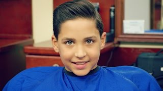 Kid's Haircut Tutorial: How to Do a Comb Over and a Fade