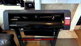 pixmax Vinyl cutter demo