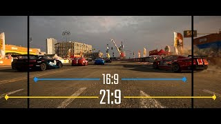 GRID Ultrawide vs. Widescreen (16:9 vs 21:9 Aspect Ratio)