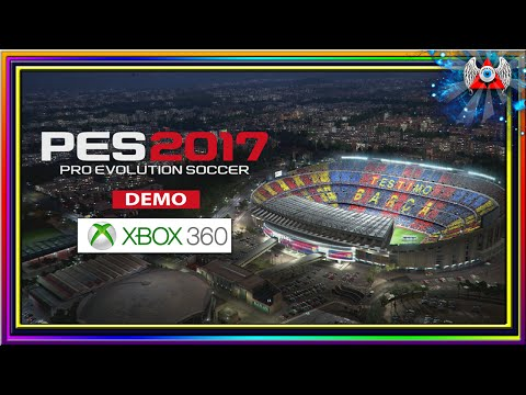 [360] • PES 2017 - Demo •  Para Xbox 360 RGH