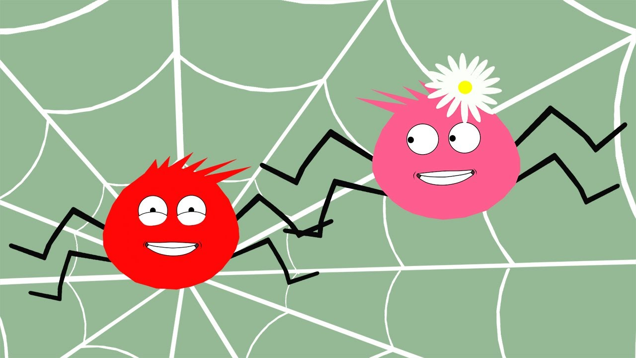 Nursery Rhymes - Itsy bitsy Spider - Cartoons for children - Animation for kids